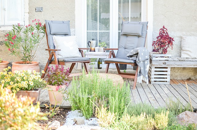 Fight cabin fever and get that Vitamin D by sprucing up your open areas with some gorgeous outdoor furniture.