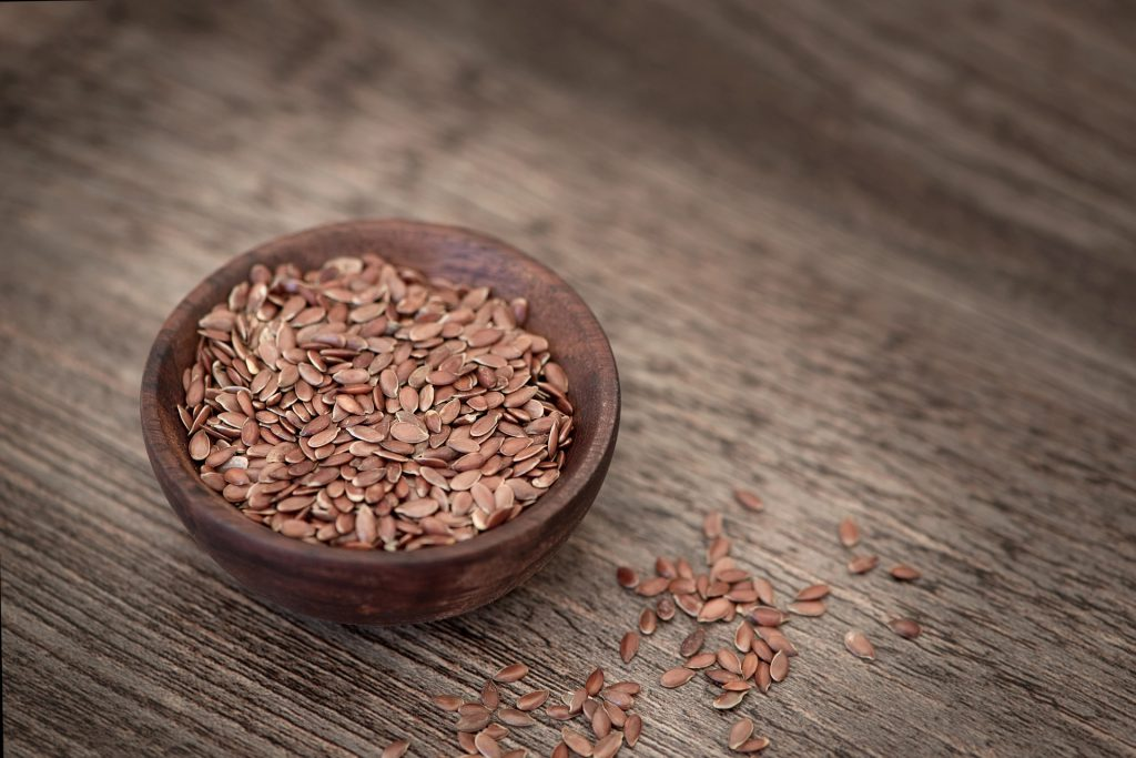 Flaxseeds before you work out at home is a big no-no