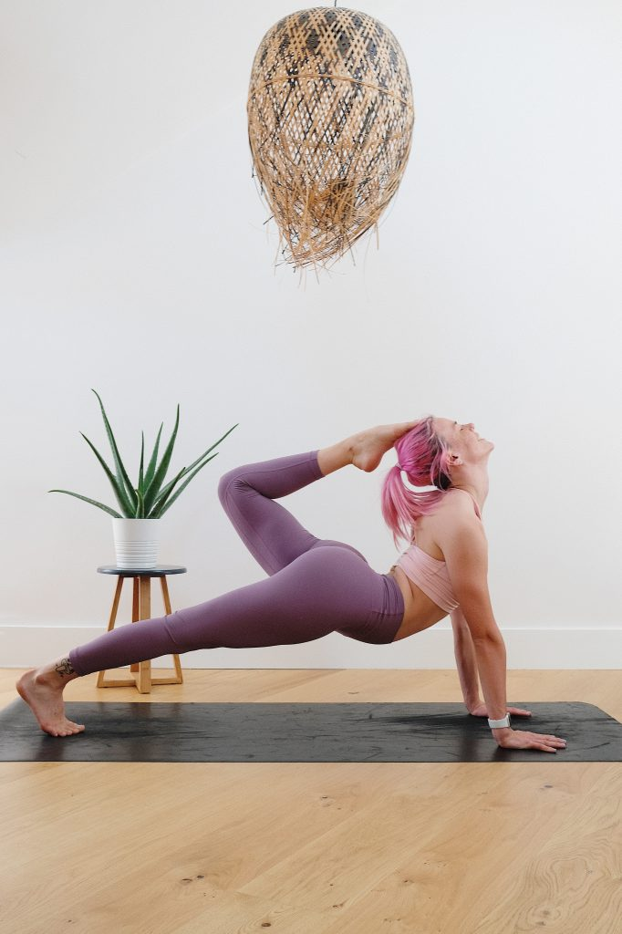 Yoga can be great way to get flexible and work out at home