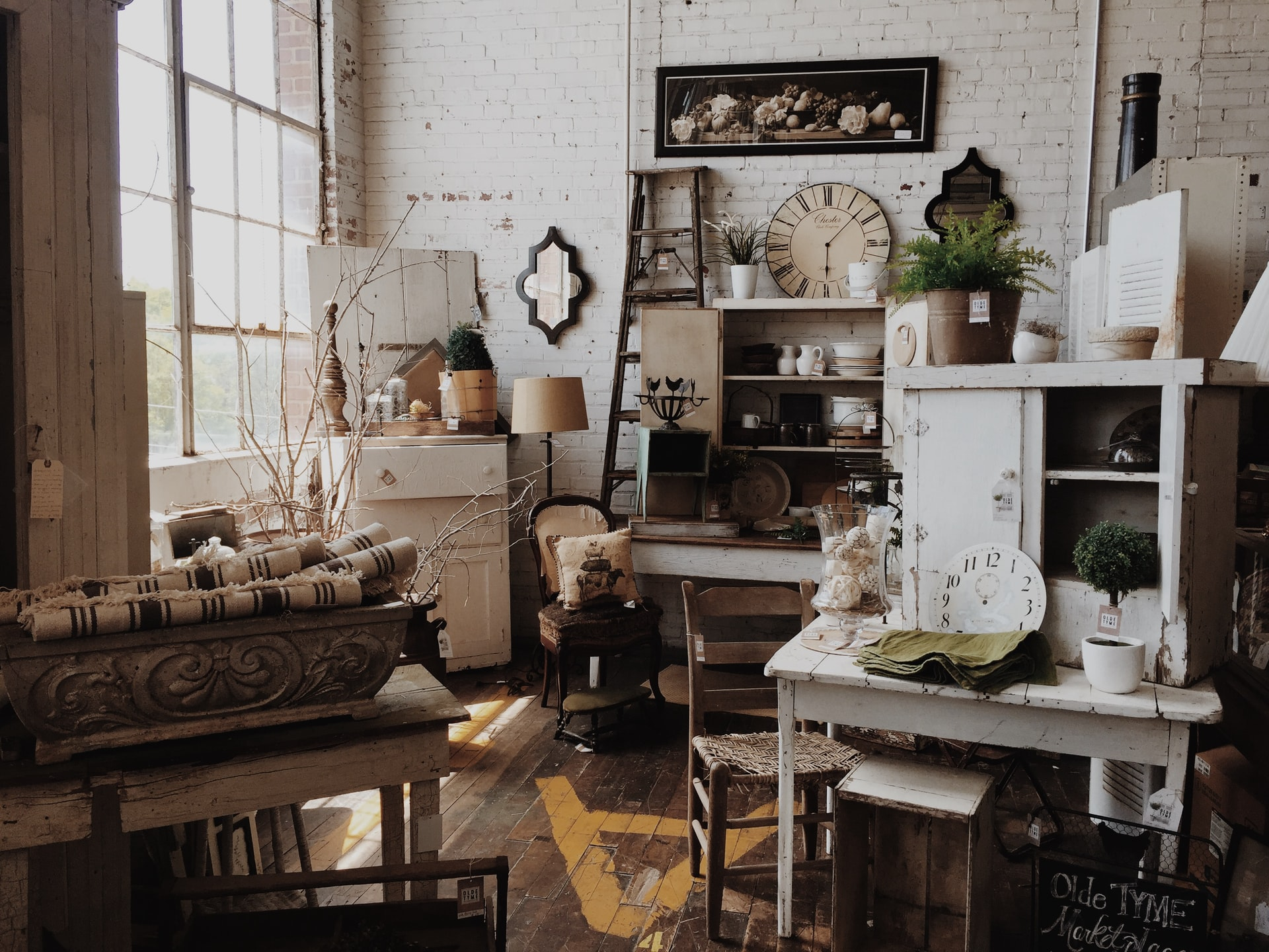 A vintage furniture